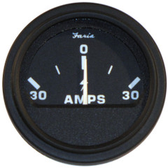 "Faria 2"" Heavy-Duty Ammeter (30-0-30) - Black [23005]"
