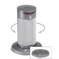 Poly-Planar Round Waterproof Pop-Up Spa Speaker - Gray [SP201RG]