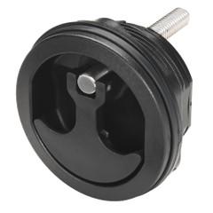 Whitecap Compression Handle Black Nylon Non-Locking - 1\/4 Turn [8730BC]