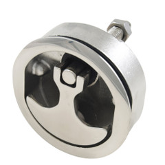 "Whitecap Compression Handle Stainless Steel Non-Locking 3"" OD - 1\/4 Turn [S-8235C]"