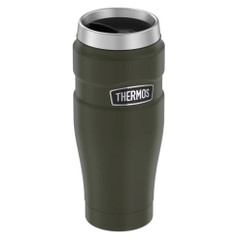 Thermos Stainless King Vacuum Insulated Stainless Steel Travel Tumbler - 16oz - Matte Army Green [SK1005AG4]