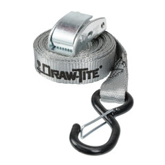 "Draw-Tite Cambuckle Tie Down w/Hooks 1"" x 10 - Grey Web [94247DT]"