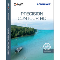 Lowrance C-MAP Precision Contour HD Chart f/Alabama [000-14808-001]