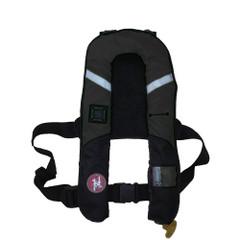 First Watch 38 Gram Pro Inflatable PFD - Auto - Black [FW-38PROA-BK]
