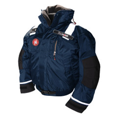 First Watch AB-1100 Pro Bomber Jacket - Large - Navy [AB-1100-PRO-NV-L]
