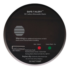 Safe-T-Alert SA-339 Black RV Battery Powered CO2 Detector [SA-339-BK]