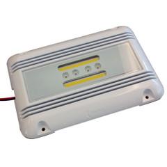 Lunasea LED Engine Room Utility Light - 16W - 3,200 Lumen Output, Ignition Proof, 10-40 VDC, 4000K Natural White LEDs [LLB-51WO-91-10]