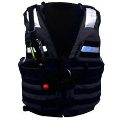 First Watch HBV-100 High Buoyancy Type V Rescue Vest - Medium-X-Large - Black [HBV-100-BK-M-XL]