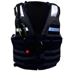 First Watch HBV-100 High Buoyancy Type V Rescue Vest - X-Large-XXX-Large - Black [HBV-100-BK-XL-3XL]