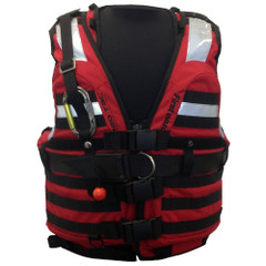 First Watch HBV-100 High Buoyancy Type V Rescue Vest - X-Large-XXX-Large - Red [HBV-100-RD-XL-3XL]