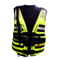 First Watch HBV-100 High Buoyancy Type V Rescue Vest - X-Large-XXX-Large - Hi-Vis Yellow [HBV-100-HV-XL-3XL]