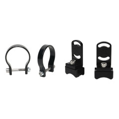 "Rigid Industries 1"" Bar Clamp f\/RDS-Series Curved Lights - Black [41021]"