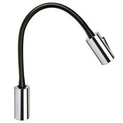 Quick Audrey Wall Light w/USB Daylight - Tabacco Chrome [FASP488ITVCEA00]