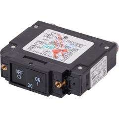 Blue Sea 7457 UL-489 Circuit Breaker - 20A Flat Rocker [7457]