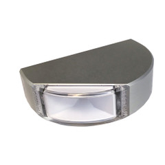 Lumitec Surface Mount Navigation Light - Classic Aluminum - Starboard Green [101578]