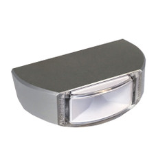 Lumitec Surface Mount Navigation Light - Classic Aluminum - Stern White [101579]