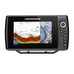 Humminbird HELIX 8 CHIRP Fishfinder/GPS Combo G3N w/Transom Mount Transducer [410810-1]