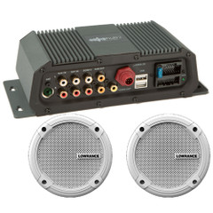 "Lowrance Sonichub Marine Audio Server w\/6.5"" Speakers [000-12301-001]"
