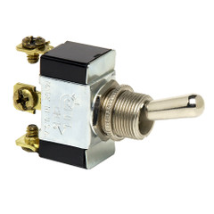 Cole Hersee Heavy Duty Toggle Switch SPDT On-Off-(On) 3 Screw [55088-BP]