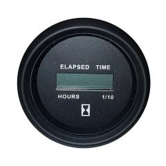 "Faria Heavy-Duty 2"" Hourmeter (Digital) (12-32VDC) Black - Packaged in Box [23011]"