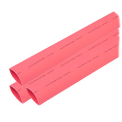 "Ancor Heat Shrink Tubing 1"" x 3"" - Red - 3 Pieces [307603]"
