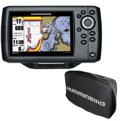 Humminbird HELIX 5 Chirp GPS G2 Combo w\/Free Cover [410210-1\COVER]
