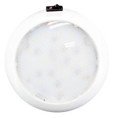 "Innovative Lighting 5.5"" Round Dome Light - White LED w\/Switch - White Housing [064-6100-7]"