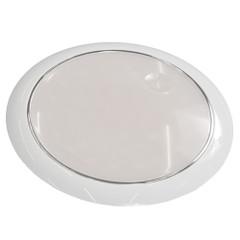"Innovative Lighting 5"" Round 42 Cool White LED w\/Touch Switch - White Bezel - 12\/24V [063-5100-7]"