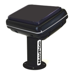 NavPod PedestalPod 70 Pre-Cut f\/Lowrance HDS-12 Gen2 Touch, HDS-12 Gen3  HDS Carbon 12 - Carbon Series [PED70-5058-C]