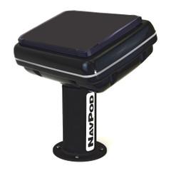 NavPod PedestalPod 70 Pre-Cut f\/Raymarine eS127, eS128  AXIOM PRO 12 - Carbon Series [PED70-5205-C]