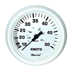 "Farai 4"" Speedometer 50 Knot Dress White [33108]"