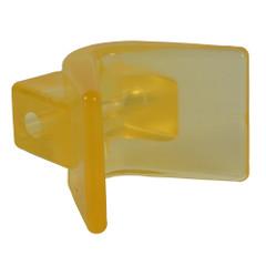 "C.E. Smith Y-Stop 3"" x 3"" - 1\/2"" ID Yellow PVC [29554]"