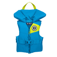 Mustang Lil Legends 100 Youth Foam PFD - 50-90lbs - Azure Blue [MV3560-268]