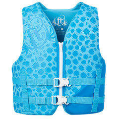 Full Throttle Rapid-Dry Life Vest - Youth 50-90lbs - Blue [142100-501-002-19]