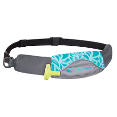 Onyx M-16 Manual Inflatable Belt Pack (PFD) - Aqua\/Grey [130900-505-004-19]