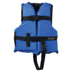 Onyx Nylon General Purpose Life Jacket - Child 30-50lbs - Blue [103000-500-001-12]