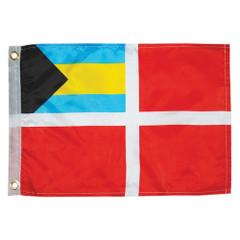 "Taylor Made Bahamas Courtesy Flag 12"" x 18"" [2018]"