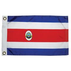 "Taylor Made Costa Rican Nylon Flag 12"" x 18"" [93072]"