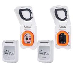 SmartPlug Combo Kit w\/ELCI Sensor  50 Amp Breaker Non-Metallic Door - White [ELCIBRKR50PW]