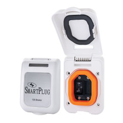 SmartPlug 50 Amp Breaker Non-Metallic Mounting Bracket - White [ELCI50BRKERNMW]