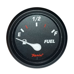 "Faria 2"" Fuel Level Gauge Metric Professional Red [GP7283]"