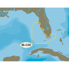 C-MAP NT+ NA-C393 Miami to Key West to Tampa - C-Card Format [NA-C393C-CARD]