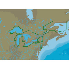 C-MAP 4D NA-D061 Great Lakes  St Lawrence Seaway -microSD\/SD [NA-D061]