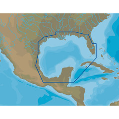 C-MAP 4D NA-D064 Gulf of Mexico - microSD\/SD [NA-D064]
