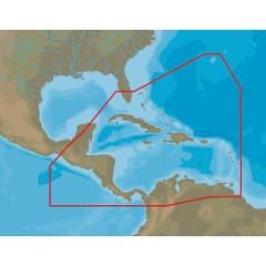 C-MAP 4D NA-D065 Caribbean  Central America -microSD\/SD [NA-D065]