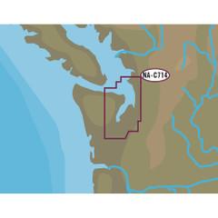 C-MAP NT+ NA-C714 Puget Sound  Straits of Juan De Fuca - C-Card Format [NA-C714C-CARD]