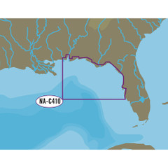 C-MAP NT+ NA-C410 Sarasota to Mobile - C-Card Format [NA-C410C-CARD]