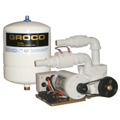GROCO Paragon Junior 24v Water Pressure System - 1 Gal Tank - 7 GPM [PJR-A 24V]