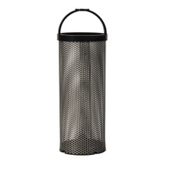 "GROCO BS-4 Stainless Steel Basket - 2.6"" x 7.5"" [BS-4]"