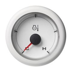 "VDO 2-1\/16"" (52MM) OceanLink Ocean Link Temperature Cold \/ Hot (250 F) White Dial  Bezel [A2C1065990001]"